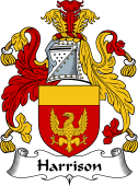 English Coat of Arms for Harrison