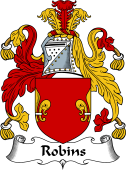 English Coat of Arms for Robins