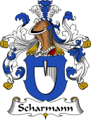 German Coat of Arms for Scharmann