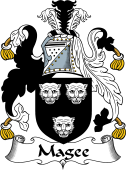 Irish Coat of Arms for Magee or MacGee