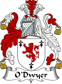 Irish Coat of Arms for O'Dwyer