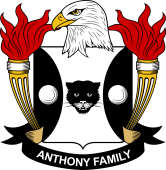 American Coat of Arms for Anthony