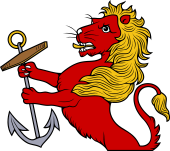 Demi Lion Holding Anchor