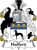 English Coat of Arms for Halford
