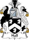 English Coat of Arms for Hall