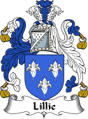 Irish Coat of Arms for Lillie or MacLilly