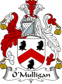 Irish Coat of Arms for O'Mulligan