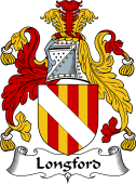 English Coat of Arms for Longford