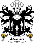 Welsh Coat of Arms for Adames (of Cardiganshire)