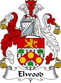 Irish Coat of Arms for Elwood