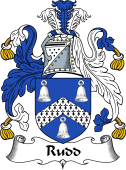 English Coat of Arms for Rudd