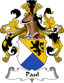 German Wappen Coat of Arms for Paul