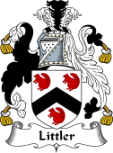 English Coat of Arms for Littler