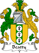 Irish Coat of Arms for Beatty or Betagh