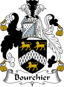 English Coat of Arms for Bourchier