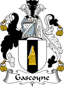 English Coat of Arms for Gascoyne