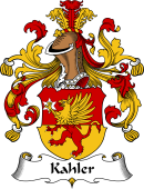 German Wappen Coat of Arms for Kahler