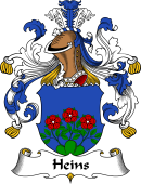 German Wappen Coat of Arms for Heins