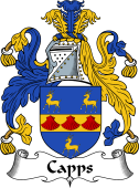 English Coat of Arms for Capps