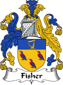 Irish Coat of Arms for Fisher