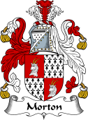 English Coat of Arms for Moreton or Morton