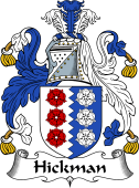 Irish Coat of Arms for Hickman
