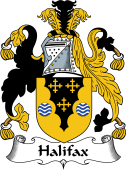 English Coat of Arms for Halifax