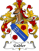German Wappen Coat of Arms for Gabler