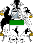 English Coat of Arms for Buckton