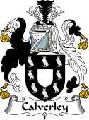 English Coat of Arms for Calverley