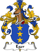 German Wappen Coat of Arms for Eger