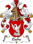German Coat of Arms for Dathe
