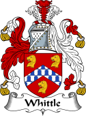 English Coat of Arms for Whittle
