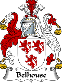 English Coat of Arms for Belhouse