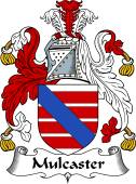 English Coat of Arms for Mulcaster or Muncaster