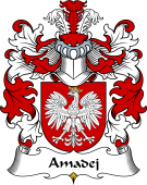 Polish Coat of Arms for Amadej