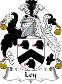 English Coat of Arms for Ley