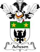 Coat of Arms from Scotland for Acheson
