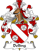 German Coat of Arms for Delling