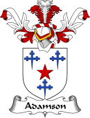 Coat of Arms from Scotland for Adamson