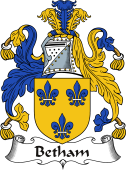 Irish Coat of Arms for Betham