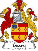 English Coat of Arms for Geary