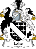 English Coat of Arms for Lake