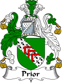 Irish Coat of Arms for Prior