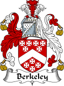 English Coat of Arms for Berkeley
