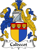 English Coat of Arms for Caldecot