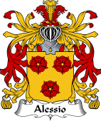 Italian Coat of Arms for Alessio