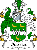 Irish Coat of Arms for Quarles