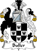 English Coat of Arms for Buller