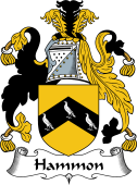 English Coat of Arms for Hammon